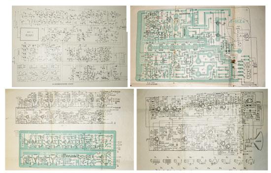老式中国收音机电路图